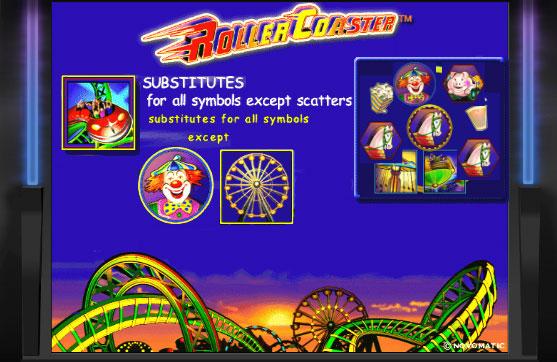 Карусель  игровой автомат Roller Coaster бесплатно онлайн
